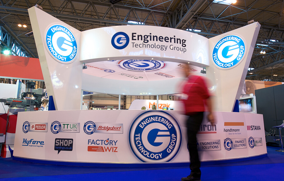 Logo design, Full stand graphics for ETG