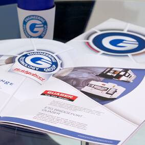 Branding, brochure design for Engineering Technology Group
