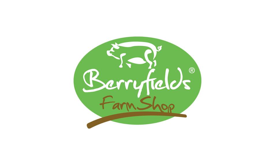 Berryfields Farm Shop Logo DESIGN SAMPLE