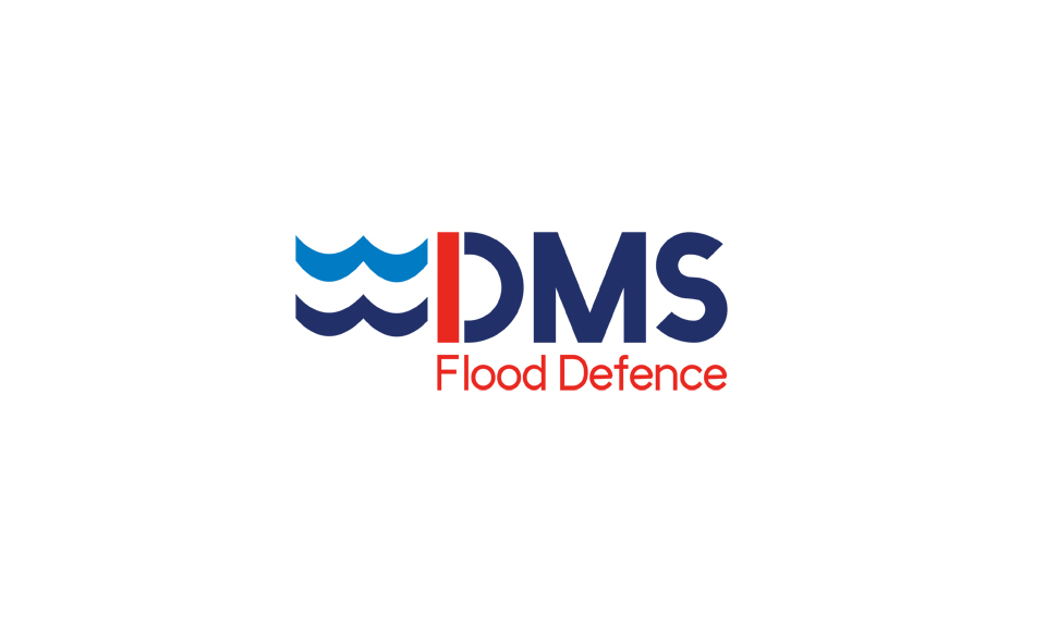 DMS Flood Defence Logo design