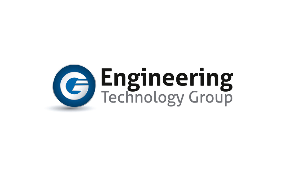 Logo designed and brand guidelines created for The Engineering Technology Group