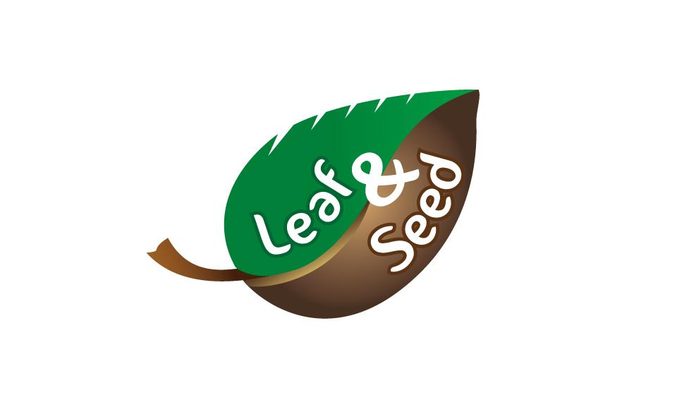 Leaf And Seed Logo DESIGN SAMPLE