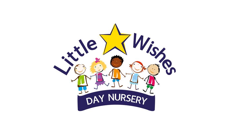 Little Wishes Day Nursery Logo DESIGN SAMPLE