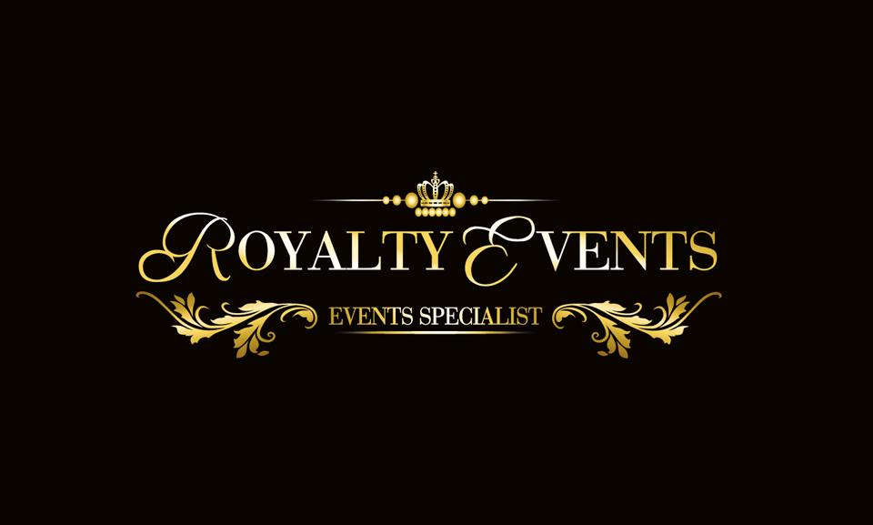 Royalty Events Logo DESIGN SAMPLE