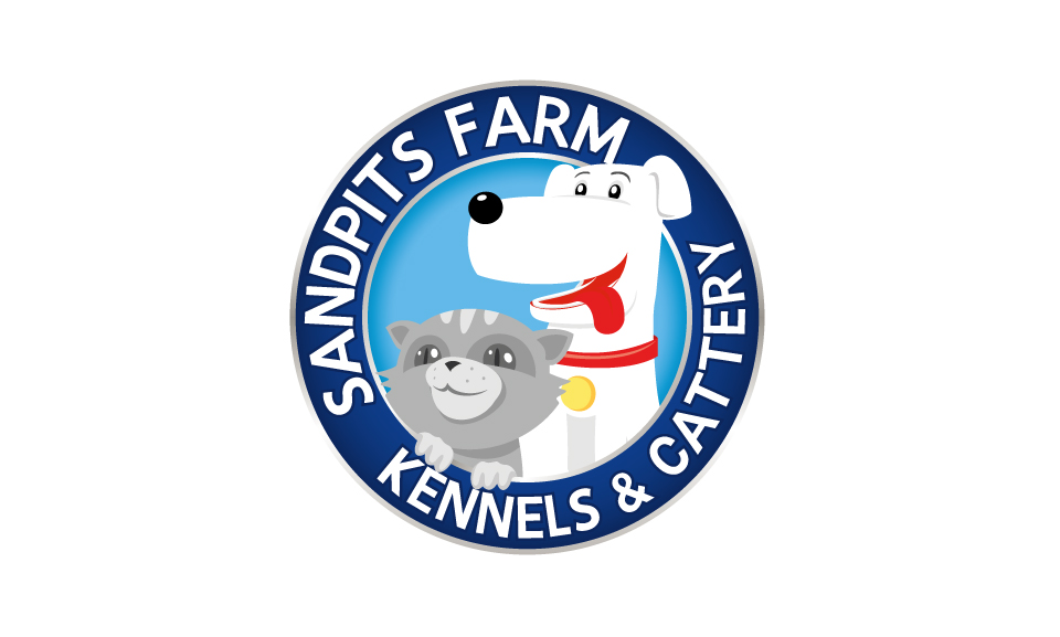 Sandpits Farm Kennels And Cattery Logo DESIGN SAMPLE