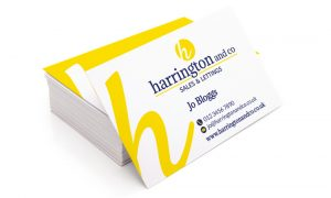 Harrington and Co Business Cards