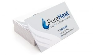 Pure Heat Business Cards