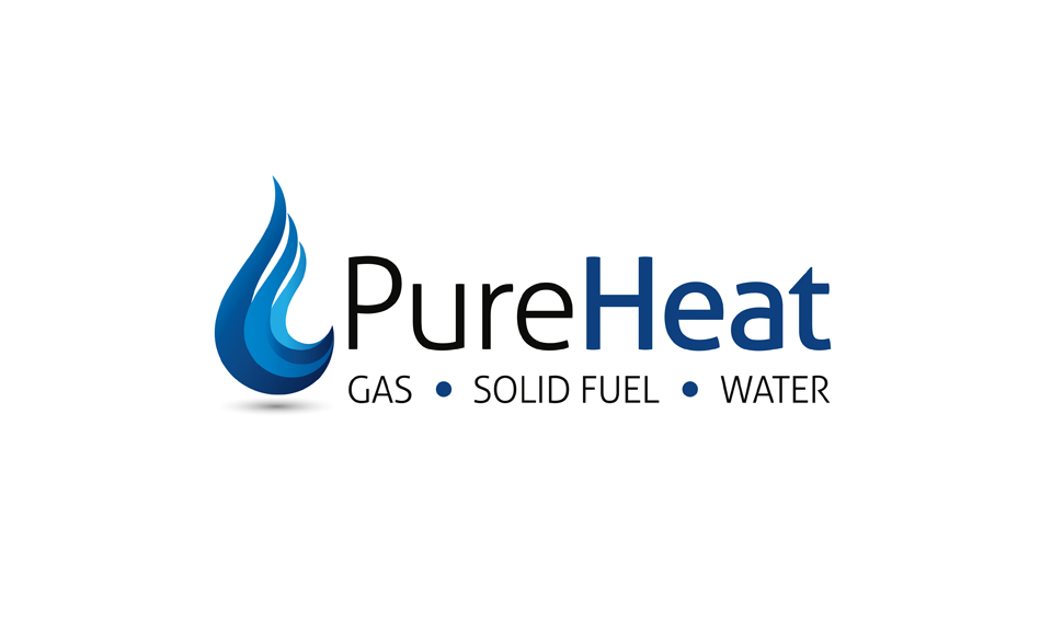 Logo design for Pure Heat company