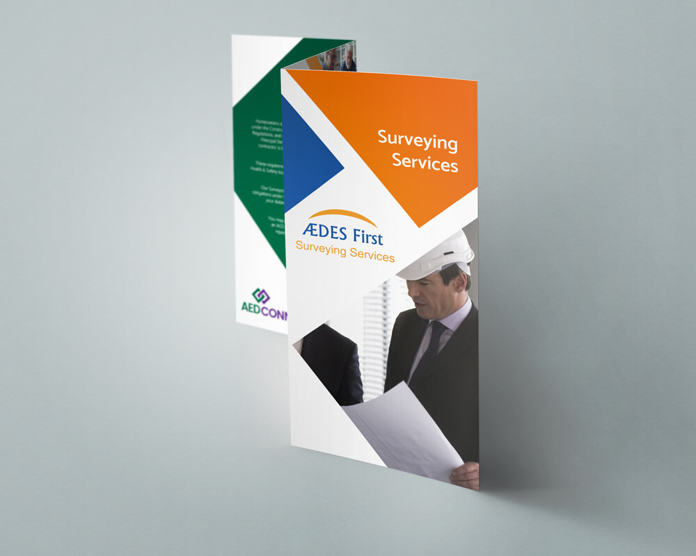 6 Page DL Leaflet design and leaflet printing