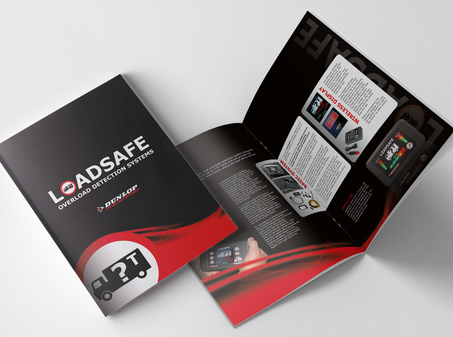 Brochure design and printed brochures