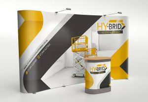 Pop up exhibitions stand, pull up exhibition stand design