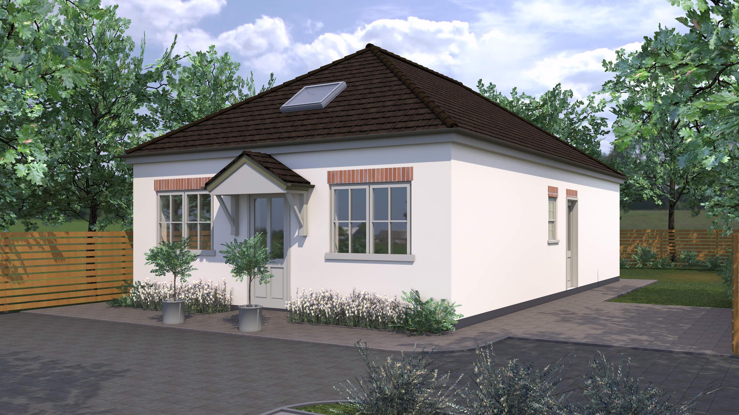 Goodwin Homes 3D render CGI