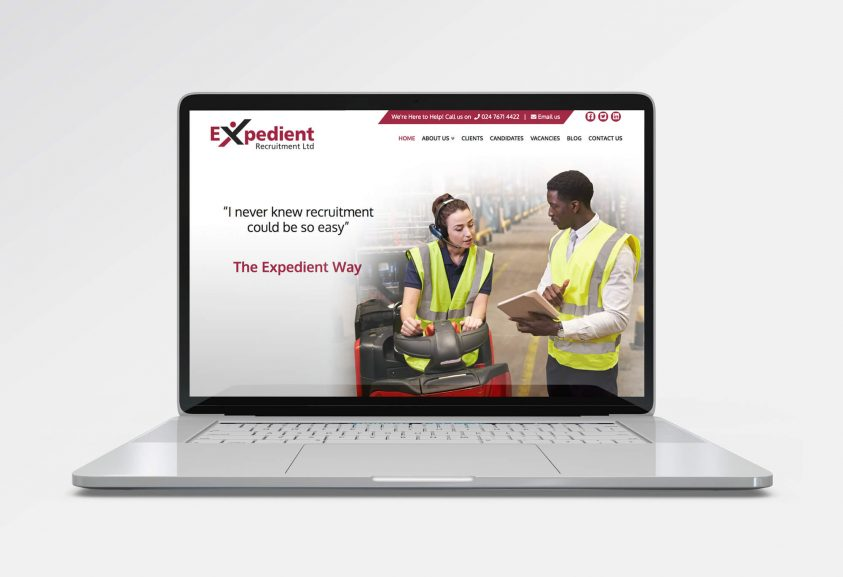 Web Design for Expedient Recruitment