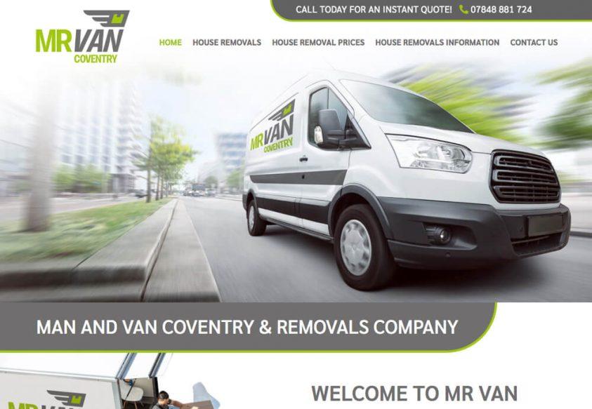 Web Design for Mr Van Coventry