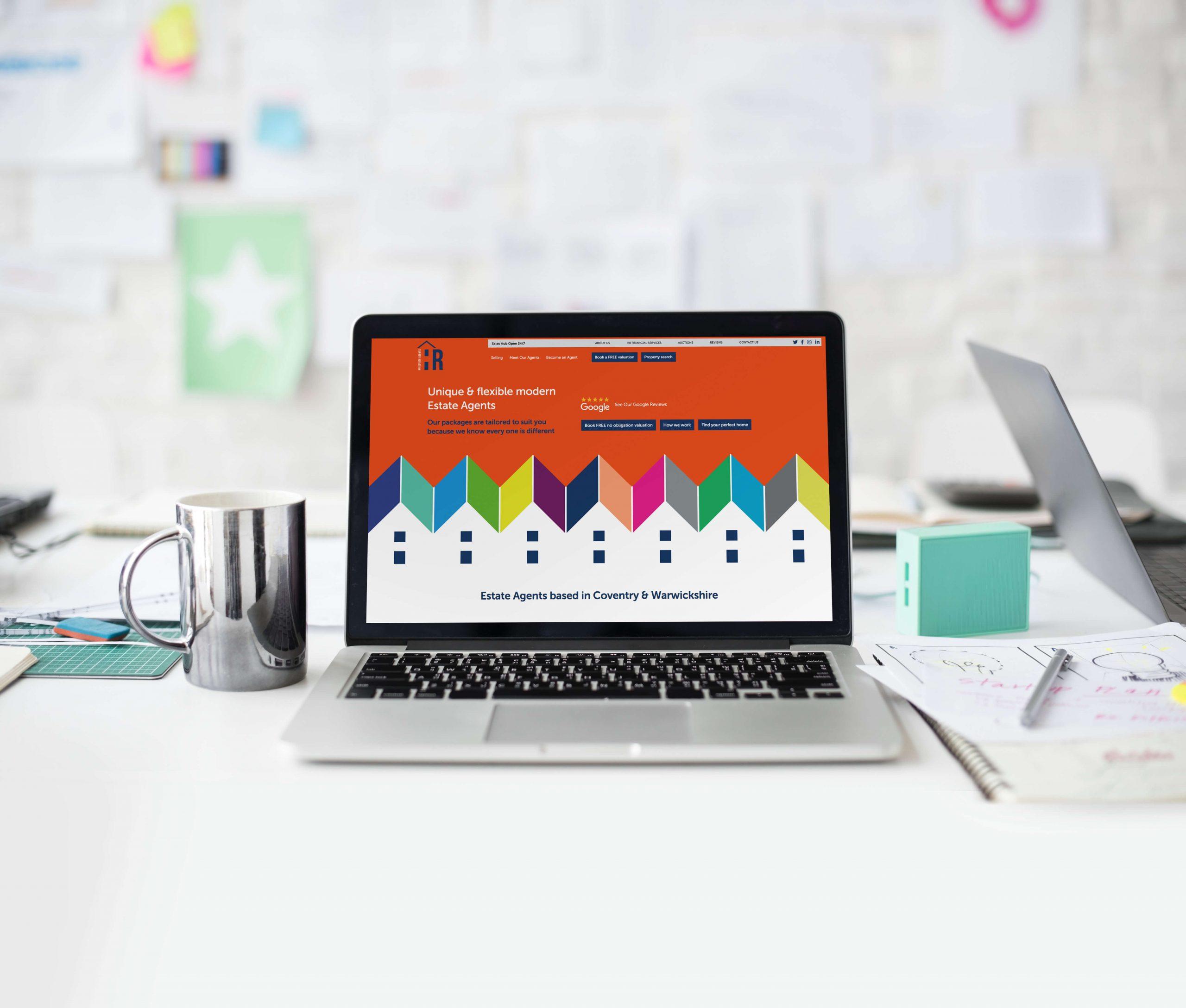 Website Design for HR Estate Agents Coventry
