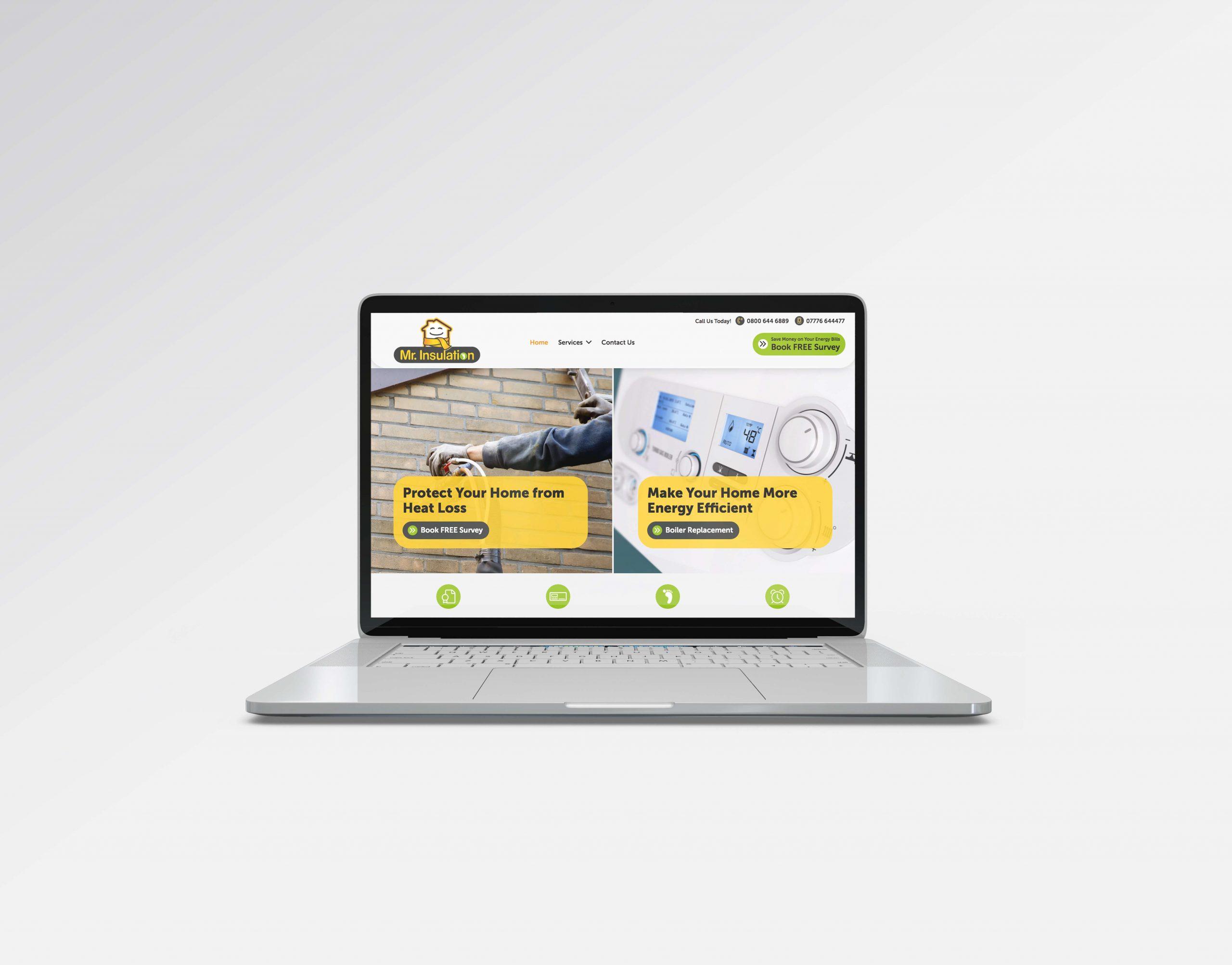 Website Design for House Insulation Coventry